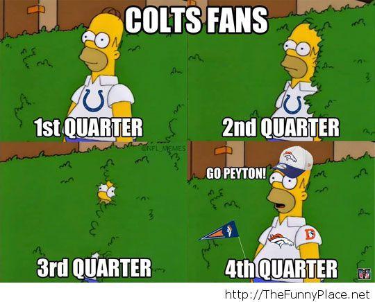 Colts fans…