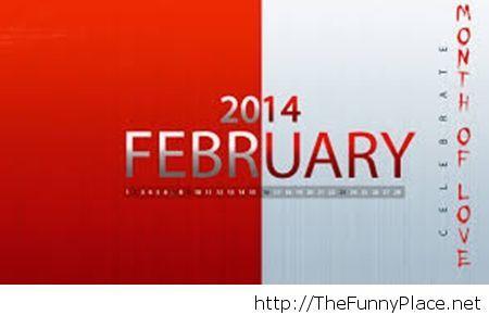February 2014 love wallpaper