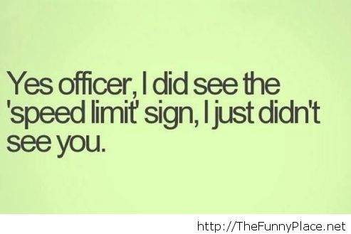 February funny police quote 2014