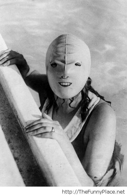 Full face mask for swimming