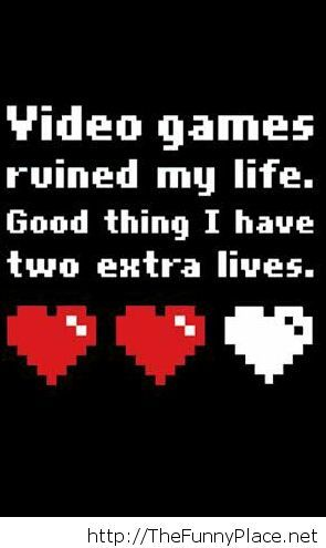 Funny gamer's quote