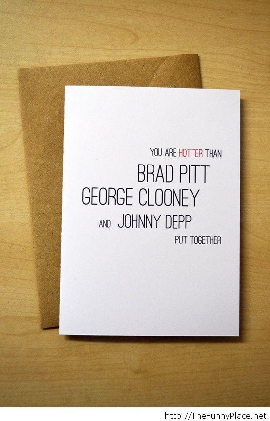 Funny love card Valentine's day 2014