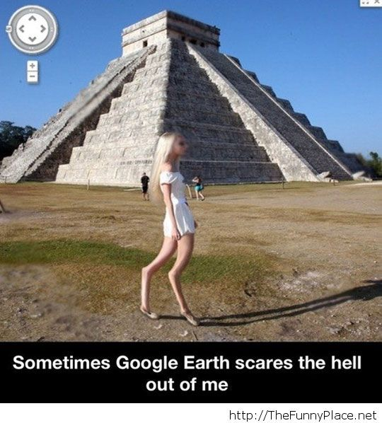 Google Earth is scary sometimes...