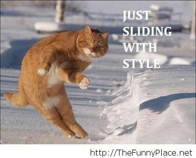 Just sliding here