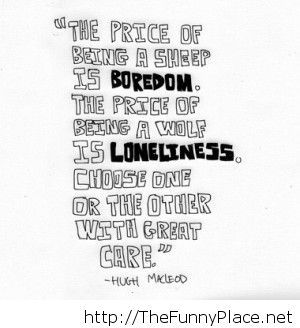 Loneliness quote funny