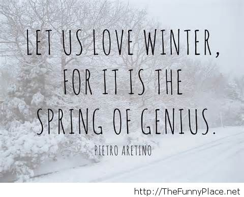 Love winter quote wallpaper funny 2014