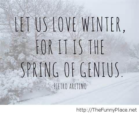 Love Winter Quote Wallpaper Funny 2014