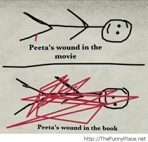 Movie vs book reality
