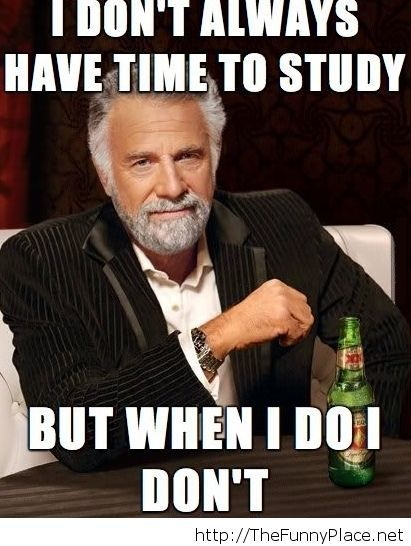 My life as a student