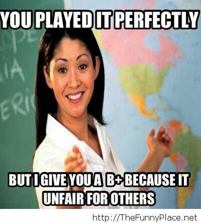 My music teacher...