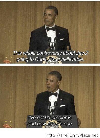 Obama being Obama