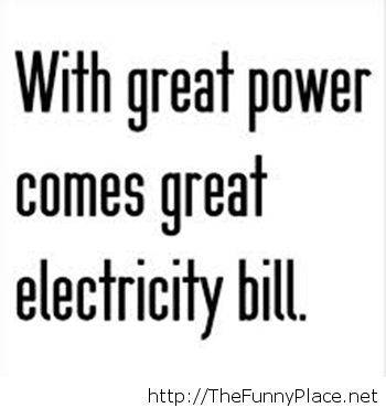 Power funny quote