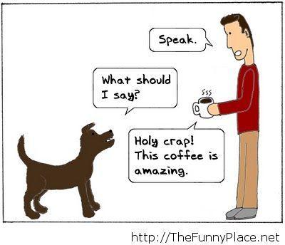 Speak you dog