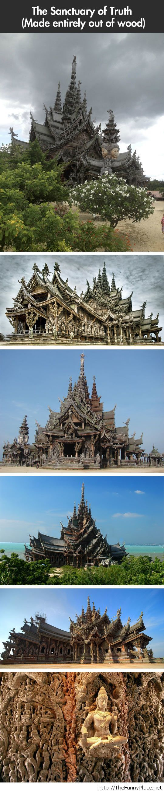 The Sanctuary of Truth…