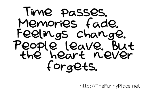 Time passes quote