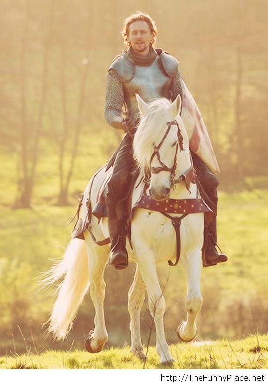 Tom Hiddleston, the only living Disney prince