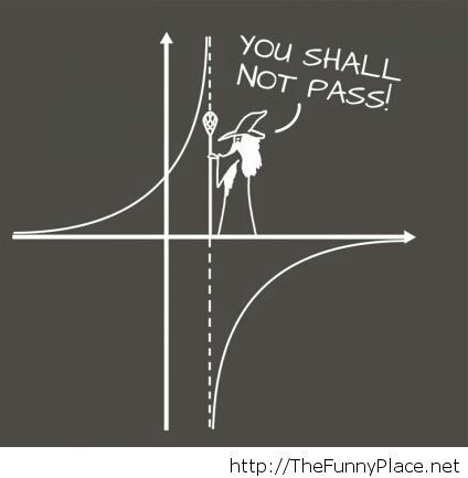 You Shall Not Pass Math