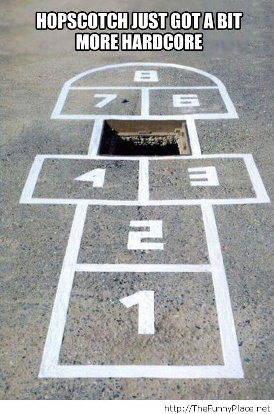 Advanced hopscotch…