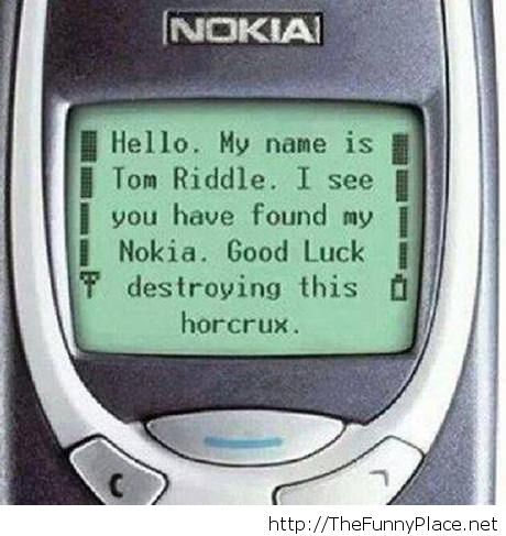 An indestructible horcrux