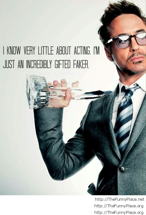 Awesome Robert Downey Jr. quote
