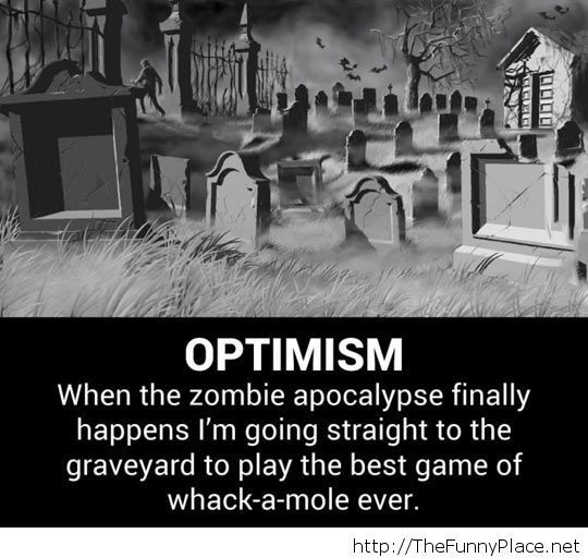Being optimistic…