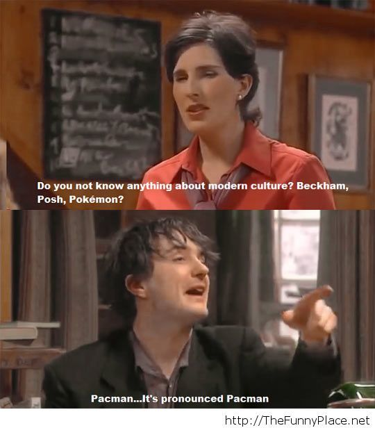 Black Books moment