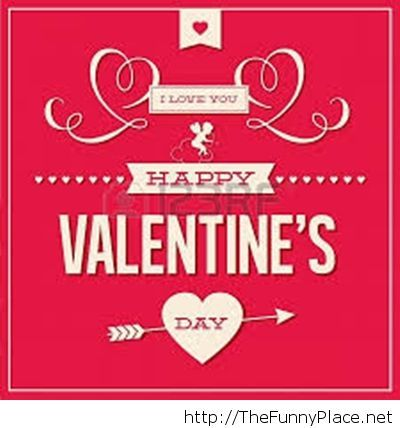 Cool card for Valentine's Day