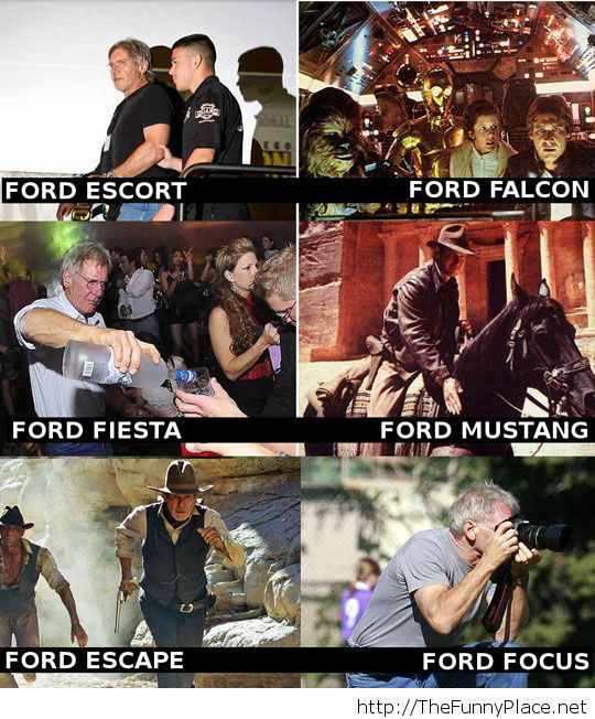 Different types of Ford