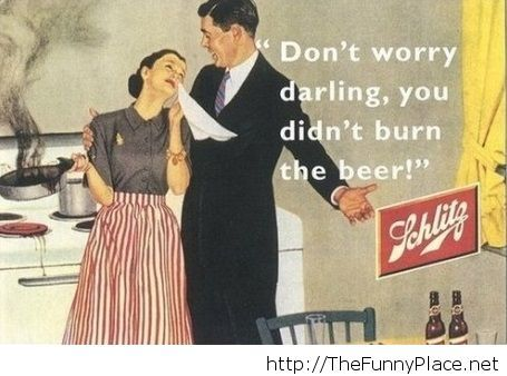 Don't worry, darling!