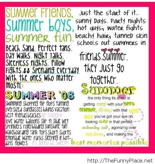 Famous summer quotes