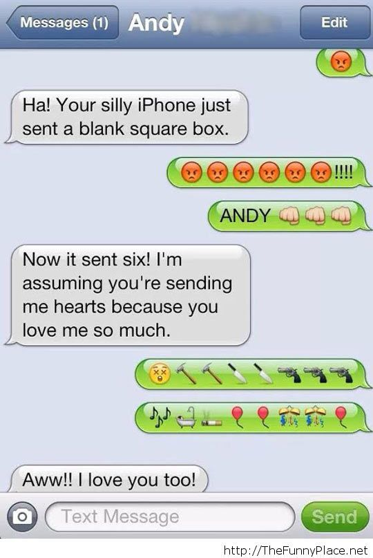 Funny Iphone 4 conversation