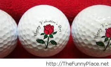 Golf Ball for 14 February