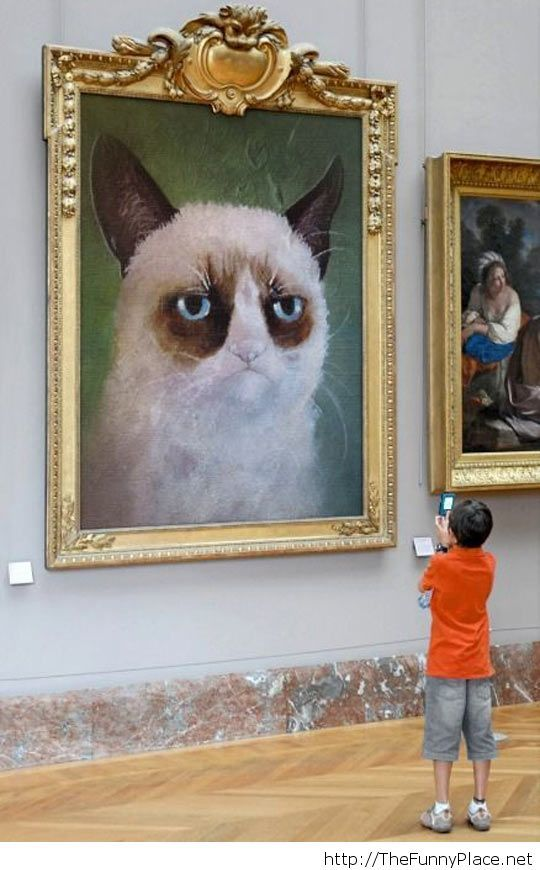 Grumpy art