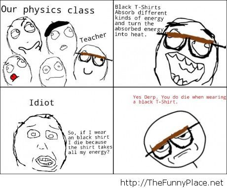 He made the lesson funnier