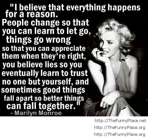 Marilyn Monroe Quote Thefunnyplace