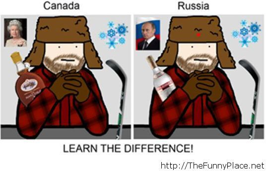 Russia is just the scary version of Canada…