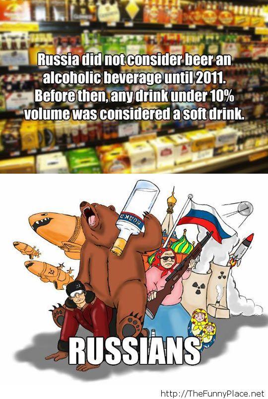 Russian logic…
