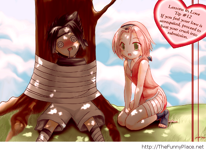 Sasuke and Sakura love image