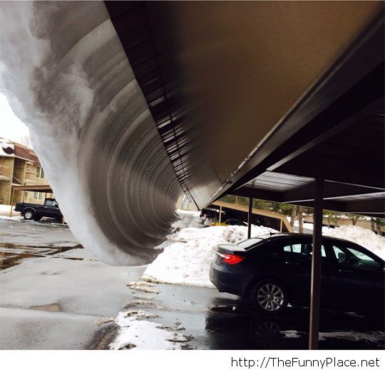This is a snow wave
