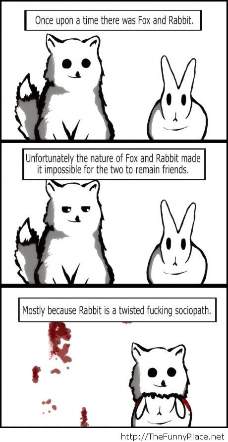 Why foxes and rabbits don't get along