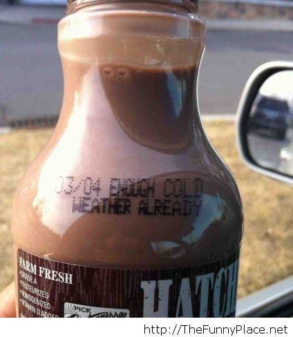 Funny bottle message