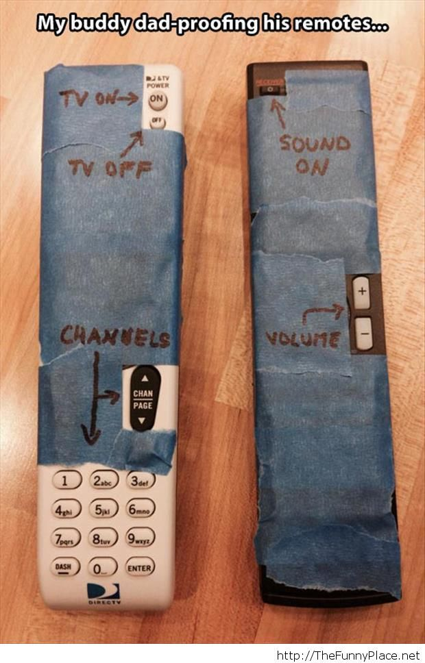 Funny remotes for old people
