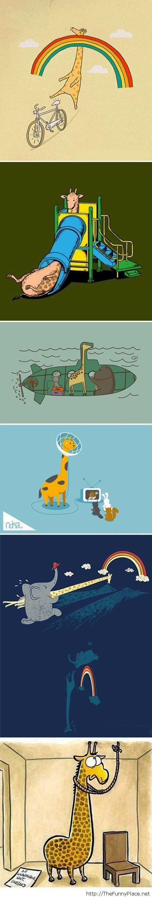 Giraffe's problems
