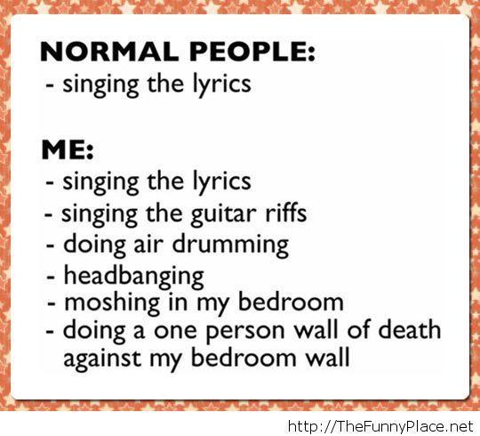How I'm singing
