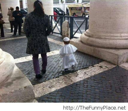 I shall cal him Mini-Pope