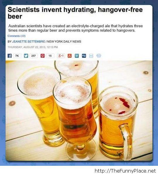 It better taste like regular beer