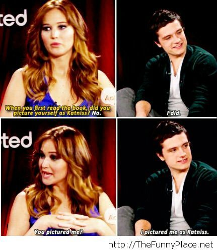 Josh Hutcherson funny saying