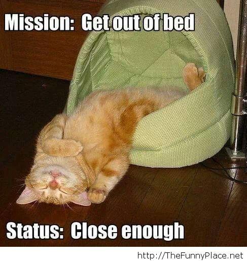 Me, on weekends...