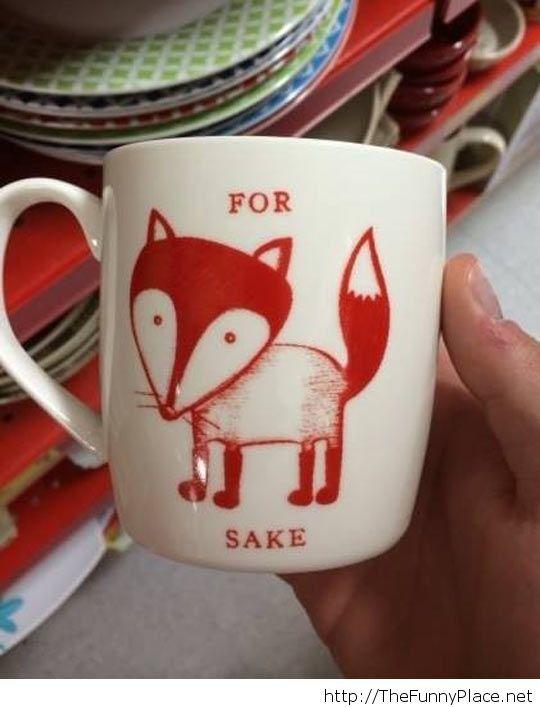 Nice mug there