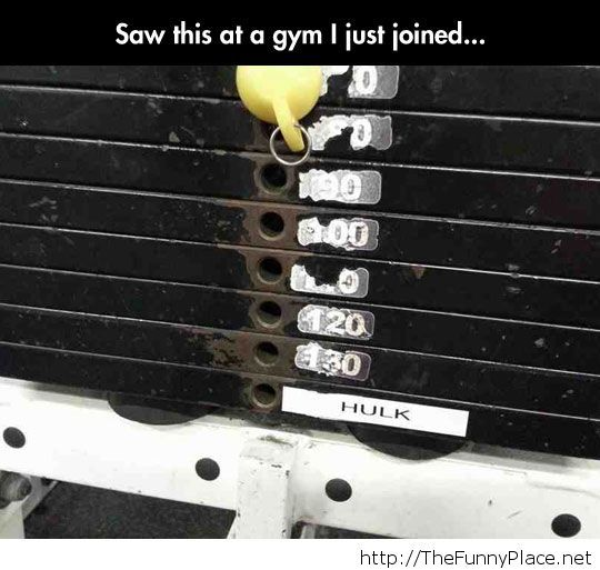 So guess who is going to this gym...